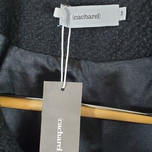cacharel Jackets & Coats - Cacharel French Crop Beaded Over Coat Sweater NEW